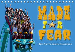 Made for Fear – Der Achterbahnkalender (Tischkalender 2021 DIN A5 quer) von Hermannsdorfer,  Markus