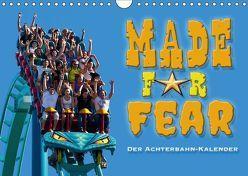 Made for Fear – Der Achterbahnkalender (Wandkalender 2018 DIN A4 quer) von Hermannsdorfer,  Markus