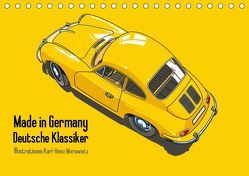 Made in Germany – Illustrationen deutscher Oldtimer (Tischkalender 2019 DIN A5 quer) von Morawietz,  Karl-Heinz