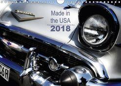 Made in the USA – Klassische Autos aus Amerika (Wandkalender 2018 DIN A4 quer) von Silberstein,  Reiner