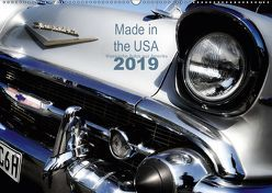 Made in the USA – Klassische Autos aus Amerika (Wandkalender 2019 DIN A2 quer) von Silberstein,  Reiner