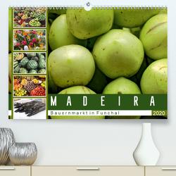 Madeira – Bauernmarkt in Funchal (Premium, hochwertiger DIN A2 Wandkalender 2020, Kunstdruck in Hochglanz) von Meyer,  Dieter