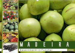 Madeira – Bauernmarkt in Funchal (Wandkalender 2020 DIN A2 quer) von Meyer,  Dieter
