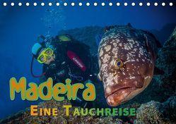 Madeira, eine Tauchreise (Tischkalender 2019 DIN A5 quer) von Gödecke,  Dieter