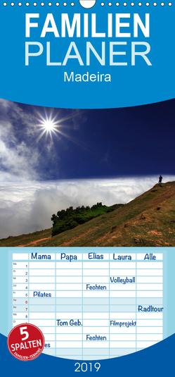 Madeira – Familienplaner hoch (Wandkalender 2019 , 21 cm x 45 cm, hoch) von Fietzek,  Thomas