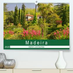Madeira – Gärten und Quintas (Premium, hochwertiger DIN A2 Wandkalender 2020, Kunstdruck in Hochglanz) von Lielischkies,  Klaus