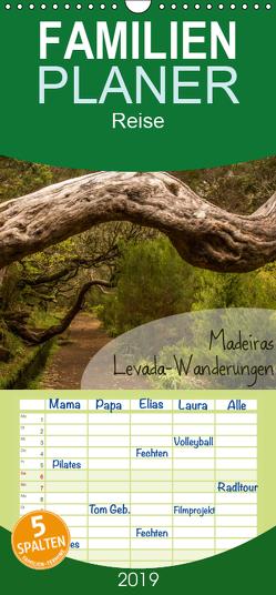 Madeiras Levada-Wanderungen – Familienplaner hoch (Wandkalender 2019 , 21 cm x 45 cm, hoch) von Gimpel,  Frauke