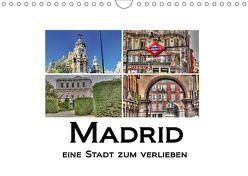 Madrid eine Stadt zum Verlieben (Wandkalender 2018 DIN A4 quer) von M.Polok,  k.A.