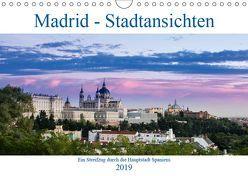 Madrid – Stadtansichten (Wandkalender 2019 DIN A4 quer) von Krebs,  Thomas