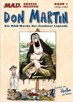 MADs große Meister: Don Martin von Martin,  Don, Sinnen,  Hella von
