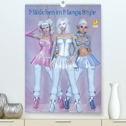 Mädchen im Manga Style (Premium, hochwertiger DIN A2 Wandkalender 2021, Kunstdruck in Hochglanz) von Tiettje,  Andrea