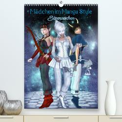 Mädchen im Manga Style (Sternzeichen) (Premium, hochwertiger DIN A2 Wandkalender 2020, Kunstdruck in Hochglanz) von Tiettje,  Andrea