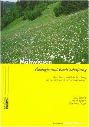 Mähwiesen von Hartmann, Josef, Schmid, Willy, Staub, Markus