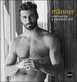 Männer Postkartenkalender Kalender 2021 von Heye, Reh,  Michael