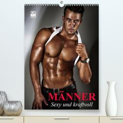 Männer. Sexy und kraftvoll (Premium, hochwertiger DIN A2 Wandkalender 2021, Kunstdruck in Hochglanz) von Stanzer,  Elisabeth