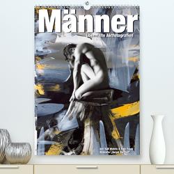 Männer – übermalte Aktfotografien (Premium, hochwertiger DIN A2 Wandkalender 2021, Kunstdruck in Hochglanz) von Fotodesign,  Black&White, Wehrle und Uwe Frank,  Ralf