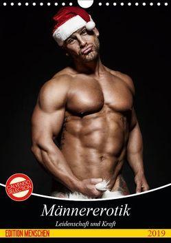 Männererotik. Leidenschaft und Kraft (Wandkalender 2019 DIN A4 hoch) von Stanzer,  Elisabeth