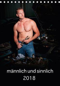männlich und sinnlich (Tischkalender 2018 DIN A5 hoch) von Werner / Wernerimages,  Peter