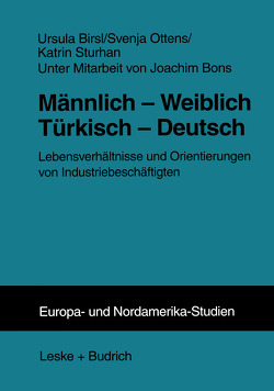 Männlich — Weiblich Türkisch — Deutsch von Birsl,  Ursula, Ottens,  Svenja, Sturhan,  Katrin