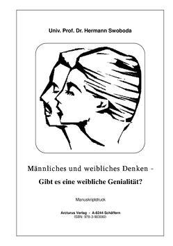 Männliches und weibliches Denken – von Swoboda,  Univ. Prof. Dr. Hermann