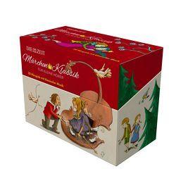 Märchen-Klassik für kleine Hörer, 10 CD-Box mit Ausmalbuch von Andersen,  Hans Christian, Brüder Grimm, , Hauff,  Wilhelm, Hoffmann,  E T A, Ibsen,  Henrik, Petzold,  Bert Alexander, Tausendundeine Nacht