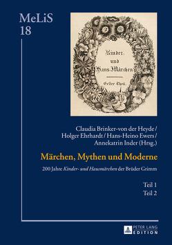 Märchen, Mythen und Moderne von Brinker-von der Heyde,  Claudia, Ehrhardt,  Holger, Ewers,  Hans-Heino