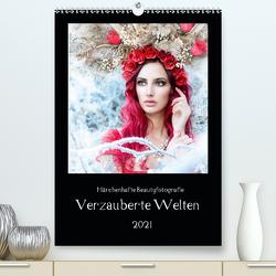 Märchenhafte Beautyfotografie – Verzauberte Welten (Premium, hochwertiger DIN A2 Wandkalender 2021, Kunstdruck in Hochglanz) von hetizia