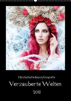 Märchenhafte Beautyfotografie – Verzauberte Welten (Wandkalender 2018 DIN A2 hoch) von HETIZIA,  k.A.