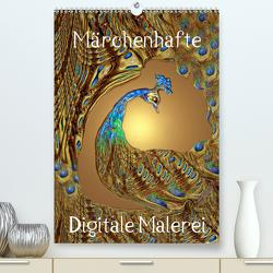 Märchenhafte Digitale Malerei (Premium, hochwertiger DIN A2 Wandkalender 2020, Kunstdruck in Hochglanz) von Laimgruber,  Dagmar