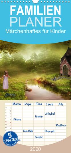 Märchenhaftes für Kinder – Familienplaner hoch (Wandkalender 2020 , 21 cm x 45 cm, hoch) von Pählike,  Susann