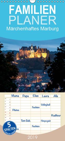 Märchenhaftes Marburg – Familienplaner hoch (Wandkalender 2019 , 21 cm x 45 cm, hoch) von Beltz,  Peter