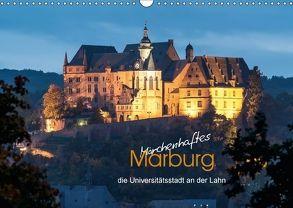 Märchenhaftes Marburg (Wandkalender 2018 DIN A3 quer) von Beltz,  Peter