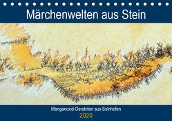 Märchenwelten aus Stein – Manganoxid-Dendriten aus Solnhofen (Tischkalender 2020 DIN A5 quer) von Frost,  Anja