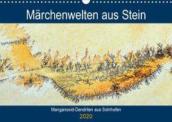 Märchenwelten aus Stein – Manganoxid-Dendriten aus Solnhofen (Wandkalender 2020 DIN A3 quer) von Frost,  Anja