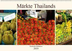 Märkte Thailands (Wandkalender 2019 DIN A2 quer) von by Sylvia Seibl,  CrystalLights