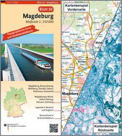 Magdeburg von BKG - Bundesamt für Kartographie und Geodäsie
