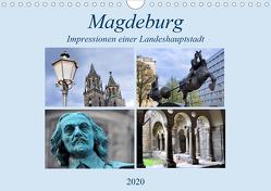 Magdeburg – Impressionen einer Landeshaupstadt (Wandkalender 2020 DIN A4 quer) von Thauwald,  Pia