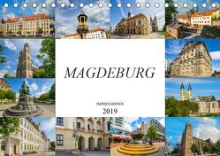 Magdeburg Impressionen (Tischkalender 2019 DIN A5 quer) von Meutzner,  Dirk