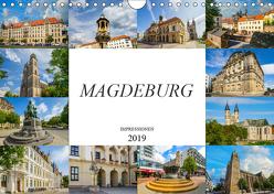 Magdeburg Impressionen (Wandkalender 2019 DIN A4 quer) von Meutzner,  Dirk