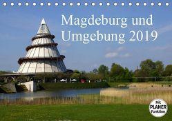Magdeburg und Umgebung 2019 (Tischkalender 2019 DIN A5 quer) von Bussenius,  Beate