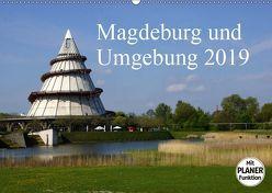 Magdeburg und Umgebung 2019 (Wandkalender 2019 DIN A2 quer) von Bussenius,  Beate