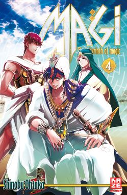 Magi – The Labyrinth of Magic – Band 4 von Ohtaka,  Shinobu, Schmitt-Weigand,  John