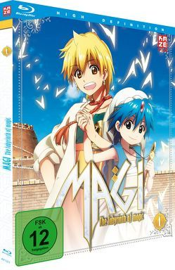 Magi – The Labyrinth of Magic – Box 1 – Blu-ray von Masunari,  Kôji