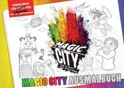 Magic City Ausmalbuch