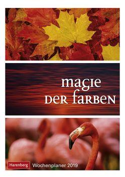 Magie der Farben – Kalender 2019 von Harenberg