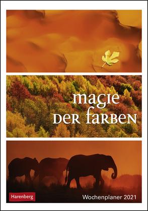 Magie der Farben Kalender 2021 von Harenberg