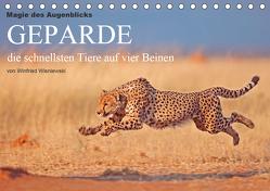 Magie des Augenblicks – Geparde – die schnellsten Tiere auf vier Beinen (Tischkalender 2020 DIN A5 quer) von Wisniewski,  Winfried