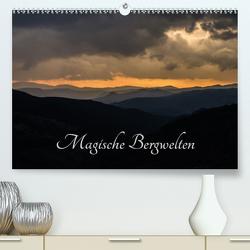 Magische Bergwelten (Premium, hochwertiger DIN A2 Wandkalender 2021, Kunstdruck in Hochglanz) von Almberger,  Günter