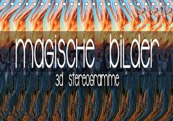 Magische Bilder – 3D Stereogramme (Tischkalender 2021 DIN A5 quer) von Bleicher,  Renate