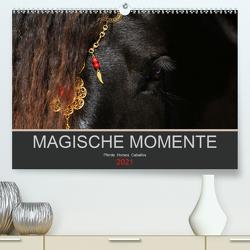 Magische Momente – Pferde Horses Caballos (Premium, hochwertiger DIN A2 Wandkalender 2021, Kunstdruck in Hochglanz) von Eckerl Tierfotografie www.petraeckerl.com,  Petra